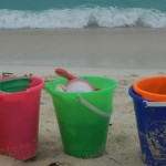 St Thomas- fun by the buckets, Sonne